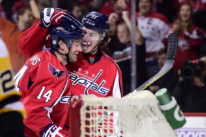 Capitals Shower Goals on Penguins, Win 7-1