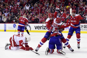 Capitals Shutout Red Wings 1-0