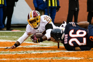 Redskins Keep Playoff Hopes Alive, Dominate Struggling Bears In Chicago