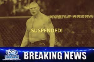 Lesnar Suspended from UFC, opens the door for WWE full-time?
