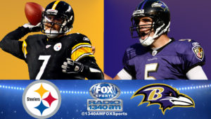 Christmas Day features another chapter of the Ravens Steelers Rivalry