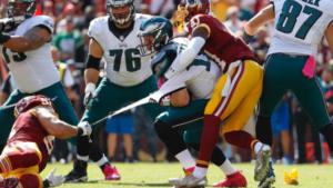 NFC East Showdown: Redskins Vs Eagles