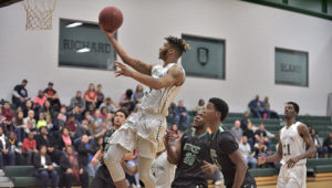 Richard Bland Rolls Past Guilford Tech (N.C.) 103-67