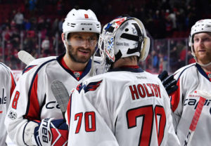 Ovechkin & Trotz Make History Against Montreal