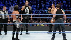 Build Up To The Elimination Chamber PPV: SmackDown Review