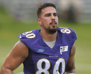 Crockett Gillmore has a message to Ravens' Tight Ends