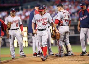 Nationals lose a close one to Philadelphia