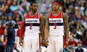 Wall and Beal dismantle the Hawks