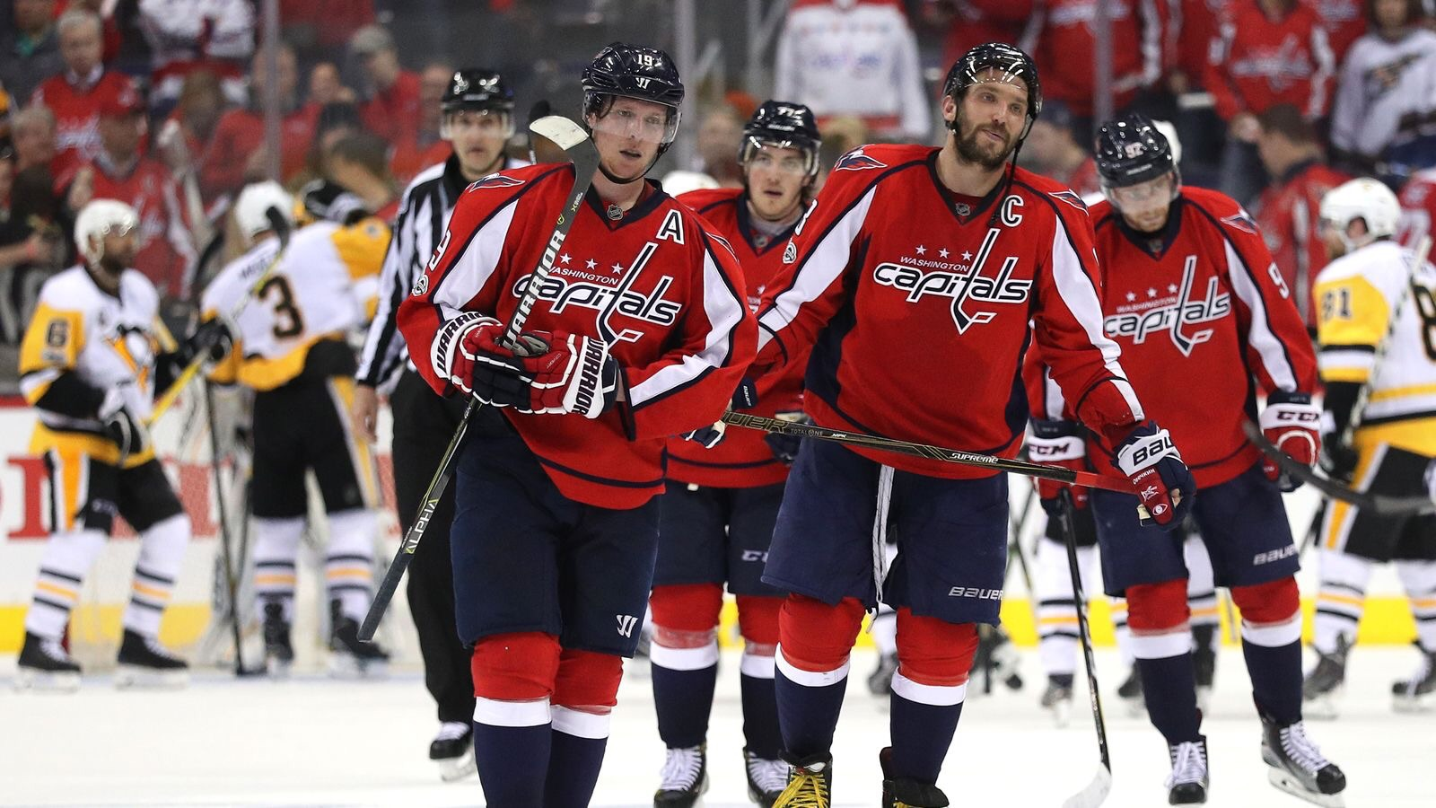 Capitals fall short in game 7