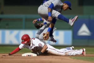 Cubs Fall Apart, Nationals Lead Woes Strikes Again as Teams Split Series