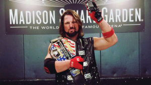 Historic Night In MSG: AJ Styles The New WWE United States Champion