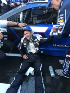 Kahne Exhausted after his Brickyard 400 win