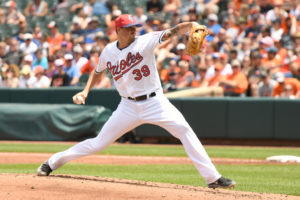 Kevin Gausman Throws Seven Shutout Innings, Orioles Win 7-1 Over Rays