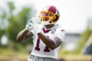 Terrelle Pryor's first training camp with the Washington Redskins