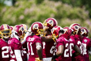 Washington Redskins Training Camp: Day One