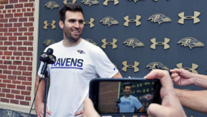 Joe Flacco Due For Bounce Back Season With Weapons