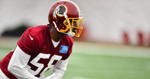 Junior Galette talks recovery and Trent Williams