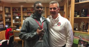 Dinwiddie Football Star, K'Vaughan Pope, Commits To Ohio State