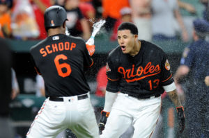 Manny Machado Powers O's to Victory, 9-7