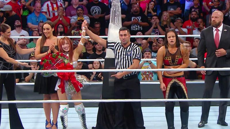 Kairi Sane Makes History: Mae Young Classic