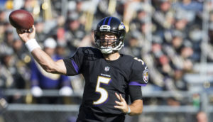 Joe Flacco and His Offense Look Inept