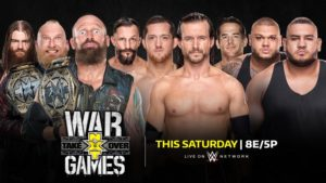 NXT TakeOver: War Games Preview