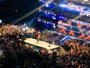 Major Title Change at SmackDown Live Taping