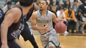 No. 17 Richard Bland Men's Basketball Upset At Home By Wake Tech (N.C.) 76-73