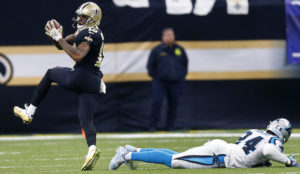 New Orleans Saints march to Minnesota after defeating Carolina