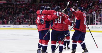 Capitals cruise to season-high fifth-straight win with victory over Vancouver