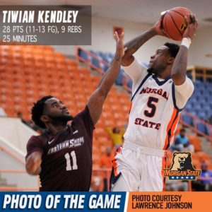Morgan State defeats MD-Eastern Shore, 85-82 in MEAC Opener