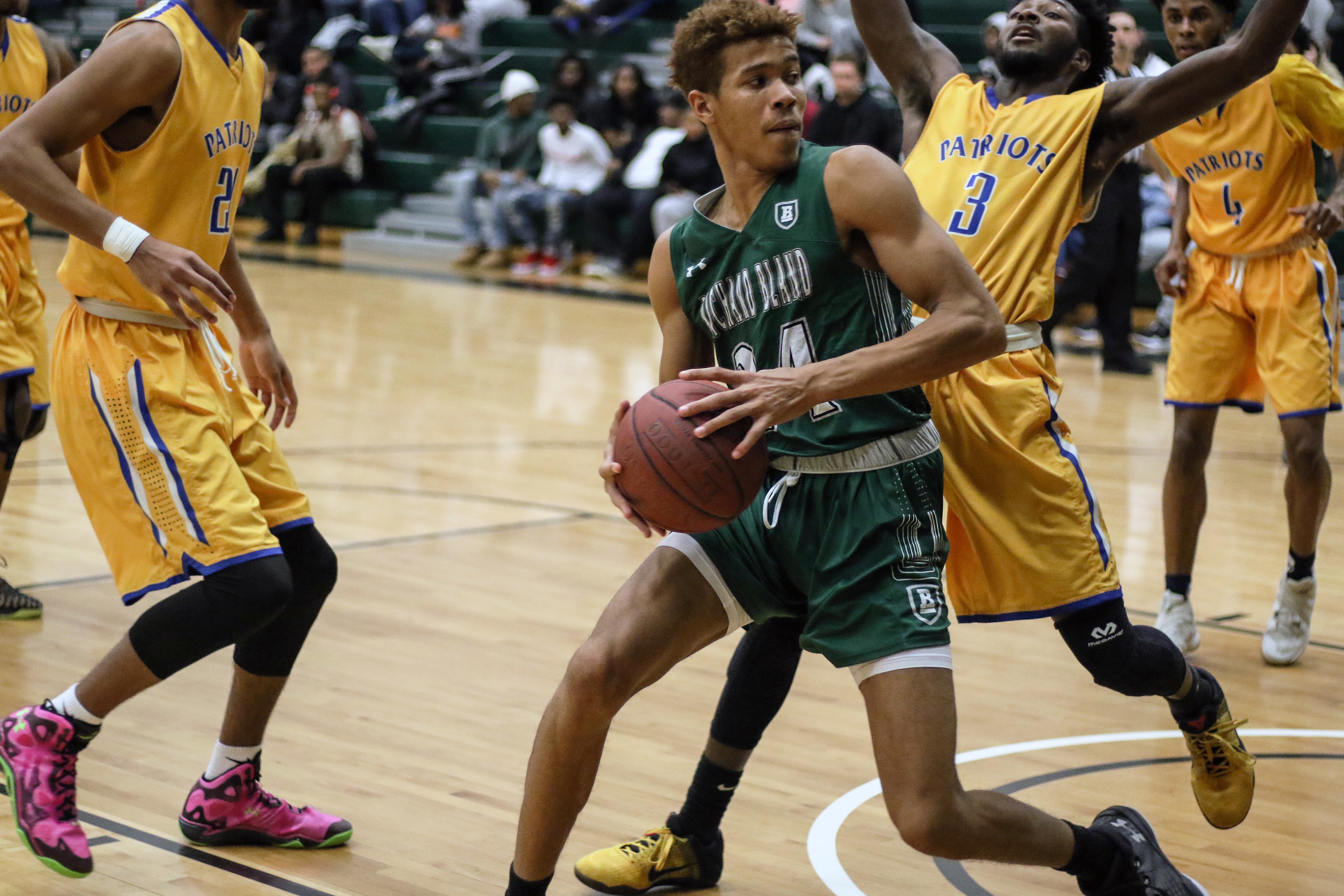 Richard Bland Men's Basketball Runs Past Visiting In-State ...