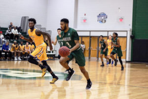 Richard Bland Men's Basketball  Region 10 title game against Louisburg