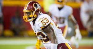 2018 Washington Redskins free agents