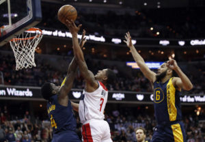 Bradley Beal misses two chances to win game for Wizards against Pacers