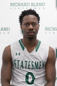 Richard Bland Names Tim Bing Jr. Athlete of the Week