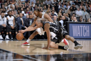 Washington Wizards drop against the Spurs, 98-90