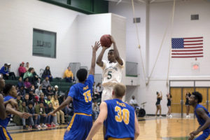 No. 3 Richard Bland Men's Basketball Defeats No. 6 Wake Tech (N.C.) 84-78