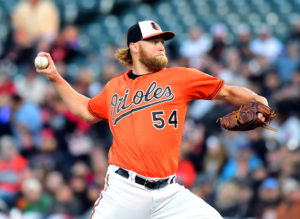 Andrew Cashner struggles in Orioles regular season debut