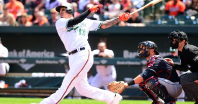 Machado's two home runs not enough in Orioles 7-3 loss to Indians