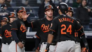 Pedro Alvarez grand slam lifts the Orioles over the Yankees 7-3