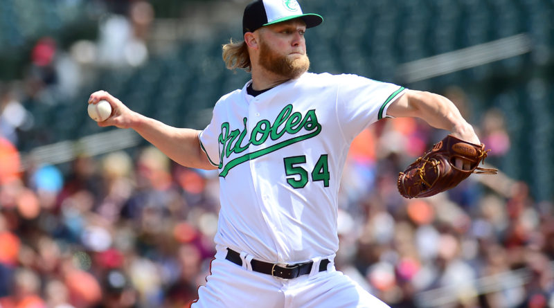 Andrew Cashner has an up and down start, Orioles lose 7-3