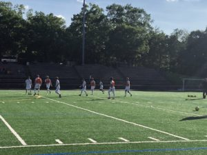 Despite FC Baltimore's 8-5 defeat of Atlantic City FC, HC Brandon Quaranta wants better defense