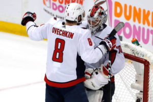 Capitals dominate game one to steal home-ice