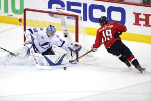 Vasilevskiy keeps Capitals at bay as Tampa ties the series
