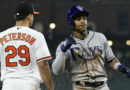 Game 2 of Orioles-Rays goes into rain delay, Tampa wins 9-3
