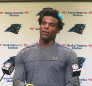 Although Cam Newton Wants to Focus on Eric Reid As a Teammate, He Will Stand By Him (Video)