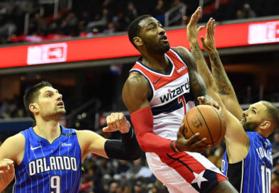 Criticism doesn't matter for Wall who leads Wizards past Magic