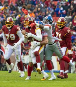 Redskins are Embarrassed and Humiliated at home in Loss to the Giants.