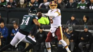 The Redskins are hapless and dominated in defeat to Eagles